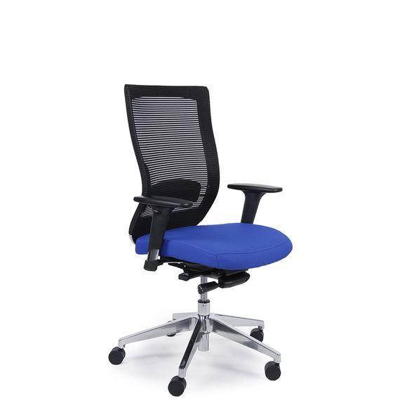 Cadeira Giratória Goal Azul Polida