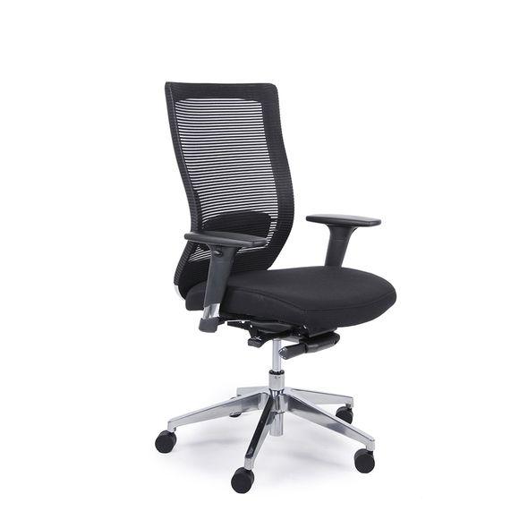Cadeira-Giroflex-Fit-Chair-Giratoria-Goal-Preta-Polida