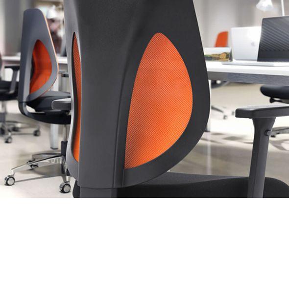 Cadeira-GIROFLEX-Escritorio-Giratoria-laranja-G353-PU