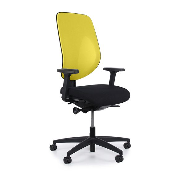 Cadeira-Candall-G353-Tela-Amarela-PU